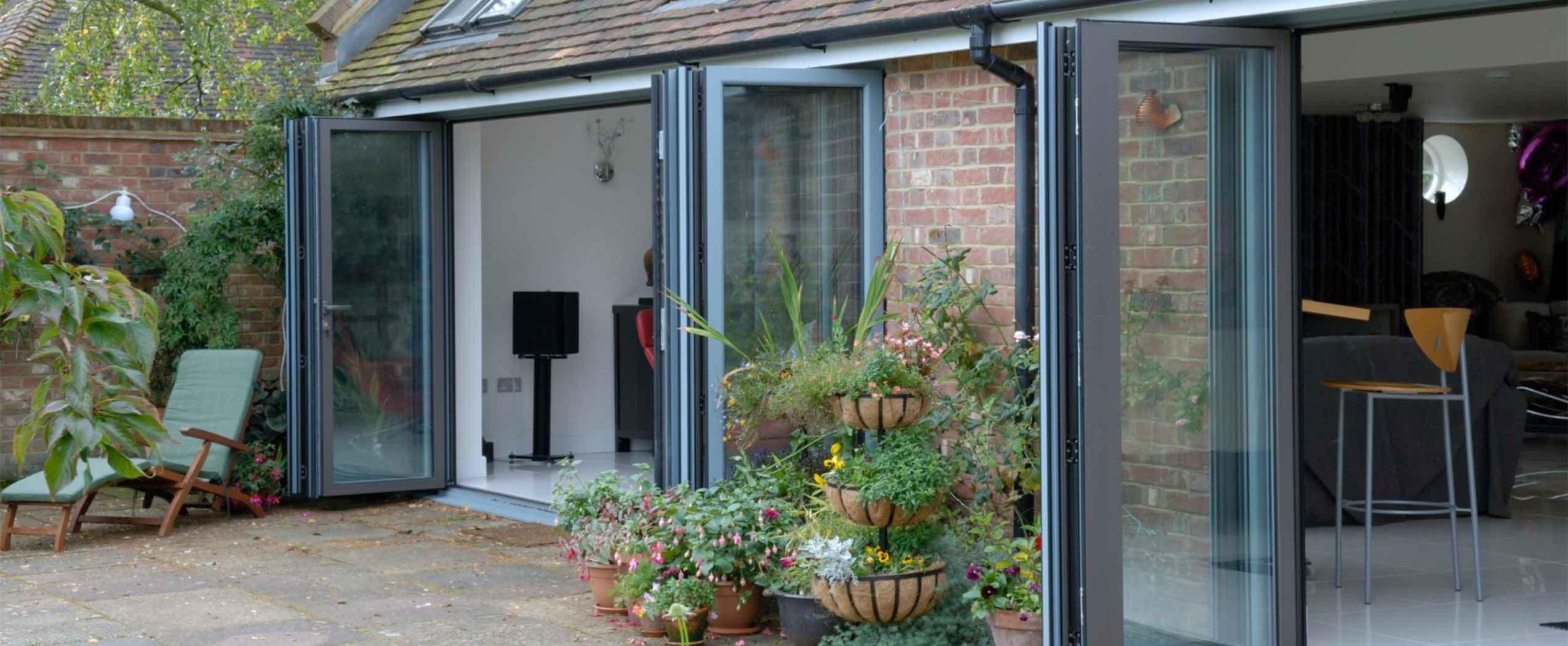 4 panel Bi-Fold doors derby derbyshire