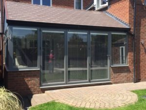 3 panel bifold door in Chesterfield