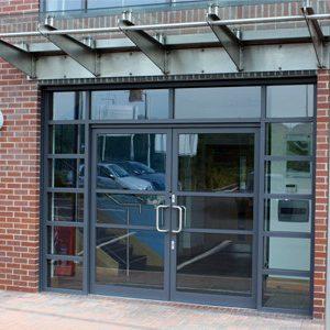 Commercial Aluminium Door Sheffield