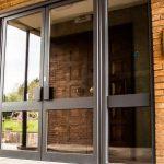 Double commercial entrance door Derbyshire