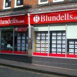 Estate agent aluminium shop front Sheffield