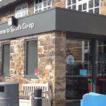 co-op_shop front commercial entrance door Derbyshire
