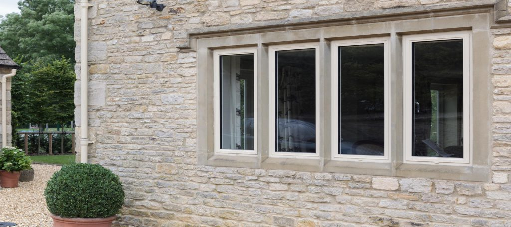 thin aluminium profile windows