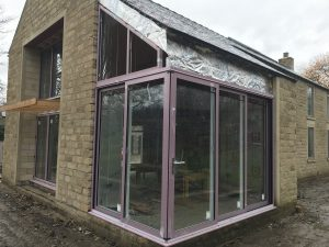 Aluminium Doors in the Peak District