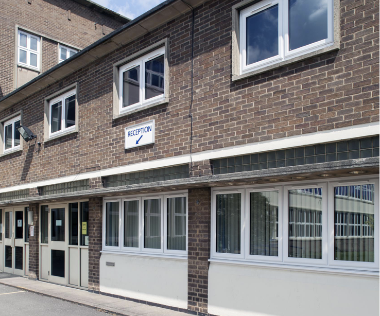 Commercial aluminium windows school