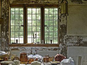 metal casement window