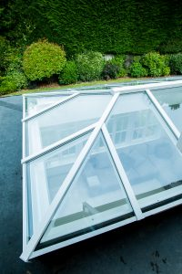 Aluminium Roof Lantern white Sheffield