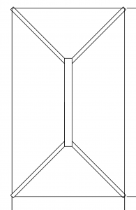 contemporary roof lantern drawing