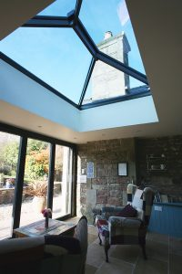 lantern roof contemporary Sheffield