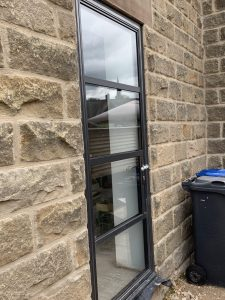 Metal Framed Door Derbyshire