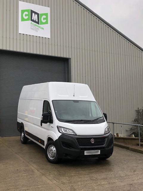 cmc aluminium new van