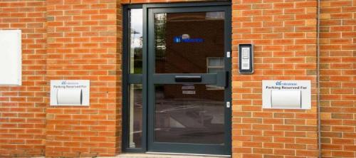 Single Commercial Entrance Door Chesterfield